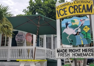 Flamingo Crossing Ice Cream Shop