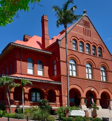Key West Musem of Art and History at the Custom House